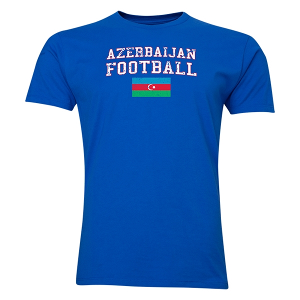 Azerbaijan Football T-Shirt (Royal)