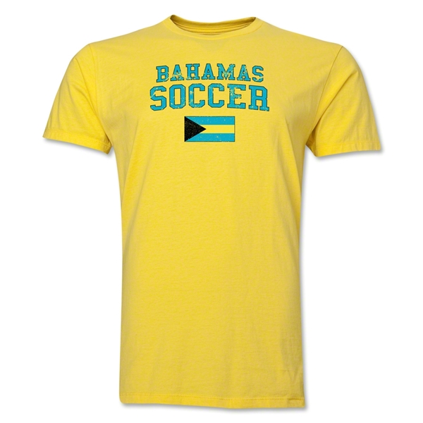 Bahamas Soccer T-Shirt (Yellow)