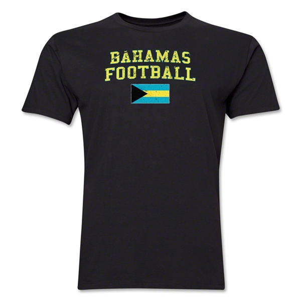 Bahamas Football T-Shirt (Black)