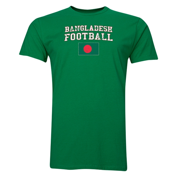 Bangladesh Football T-Shirt (Green)