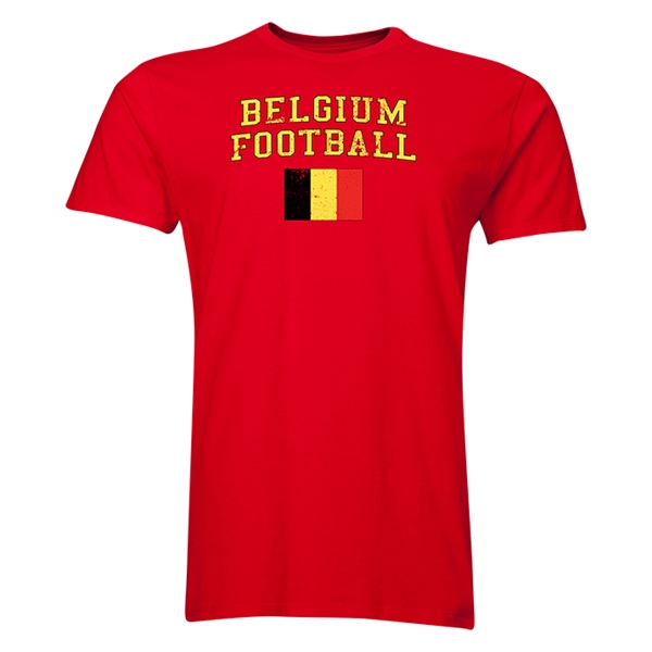 Belgium Football T-Shirt (Red)