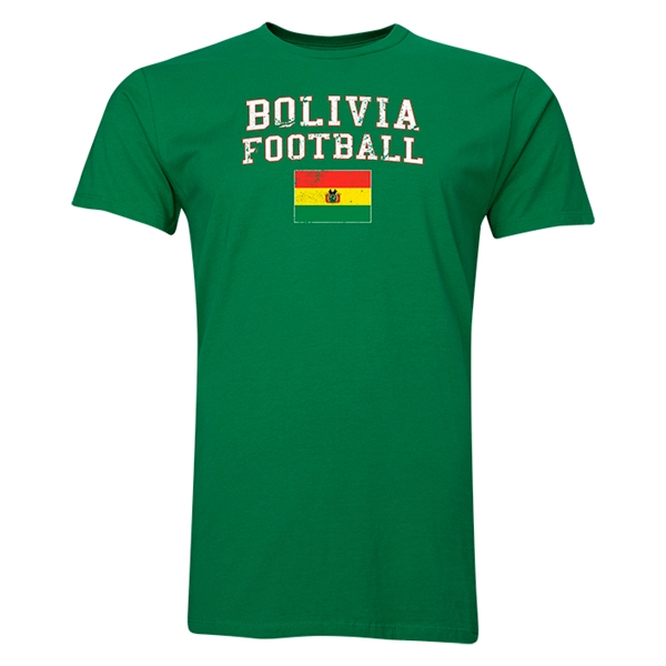 Bolivia Football T-Shirt (Green)