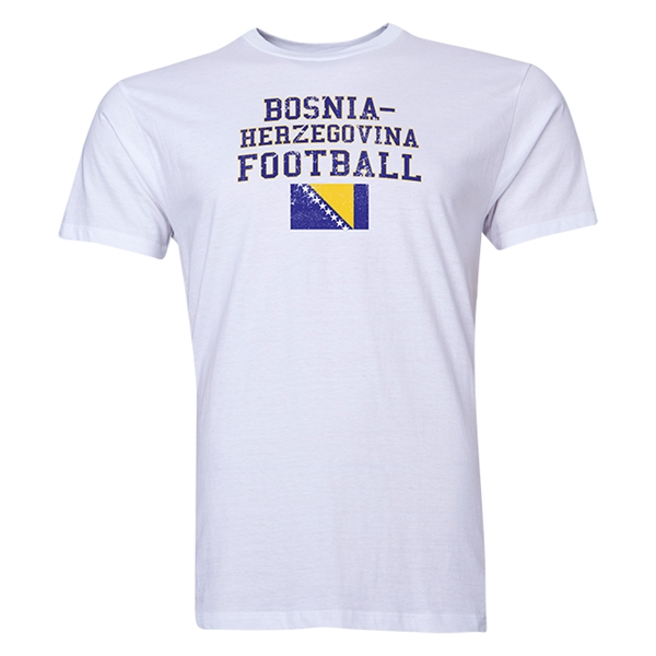 Bosnia-Herzegovina Football T-Shirt (White)