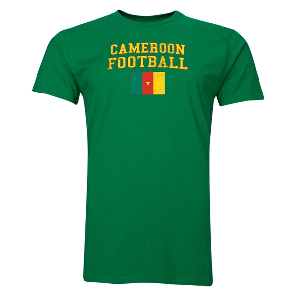 Cameroon Football T-Shirt (Green)