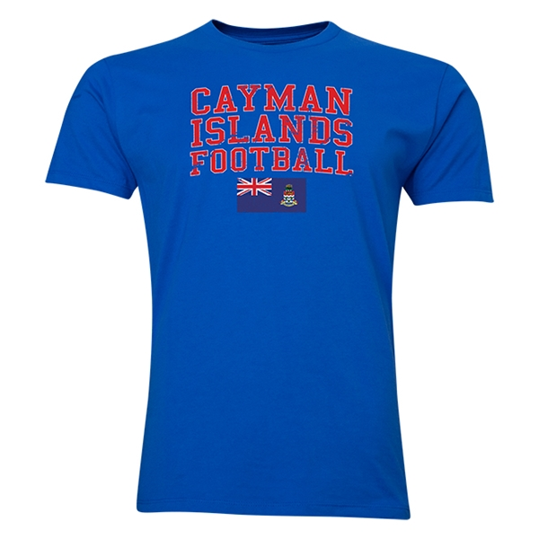 Cayman Islands Football T-Shirt (Royal)