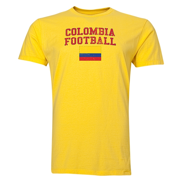 Colombia Football T-Shirt (Navy)