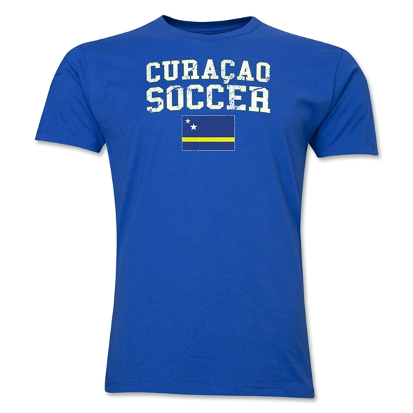 Curacao Soccer T-Shirt (Royal)