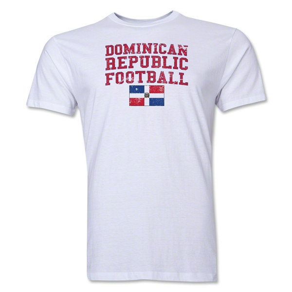 Dominican Republic Football T-Shirt (White)