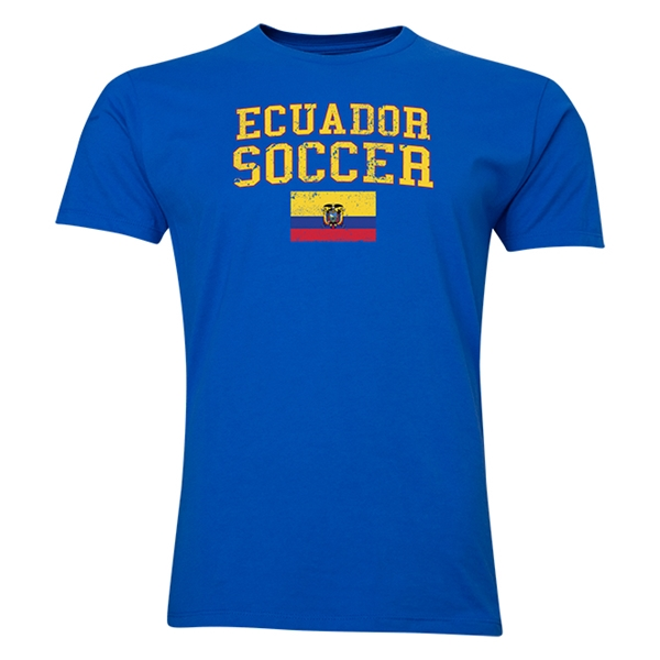 Ecuador Soccer T-Shirt (Royal)