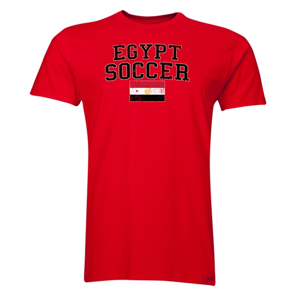 Egypt Soccer T-Shirt (Red)