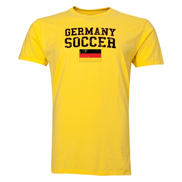 Germany Soccer T-Shirt (Yellow)