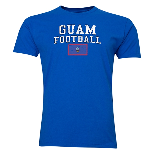 Guam Football T-Shirt (Royal)