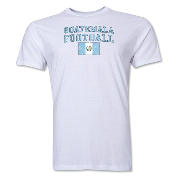 Guatemala Football T-Shirt (White)