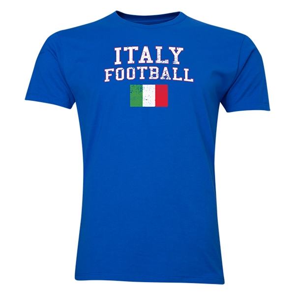 Italy Football T-Shirt (Royal)