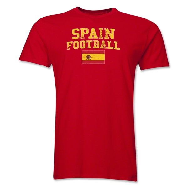 Spain Football T-Shirt (Red)