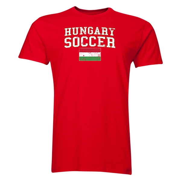 Hungary Soccer T-Shirt (Red)