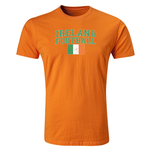 Ireland Football T-Shirt (Orange)