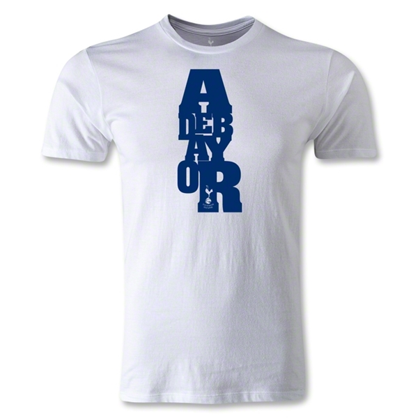 Tottenham Emmanuel Adebayor Men's Fashion T-Shirt (White)