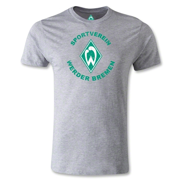 Werder Bremen Sportverein Men's Fashion T-Shirt (Gray)