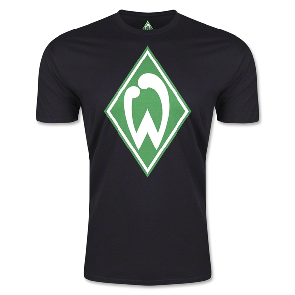 Werder Bremen Men's Fashion T-Shirt (Black)