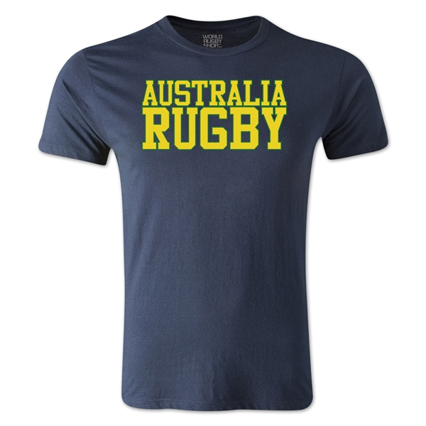 Australia Supporter Rugby T-Shirt (Navy)
