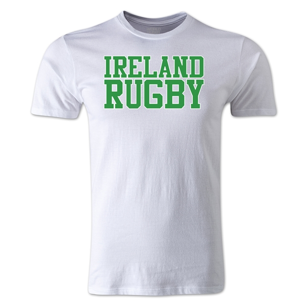 Ireland Supporter Rugby SS T-Shirt (White)
