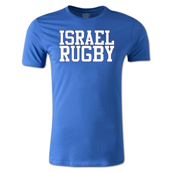 Israel Supporter Rugby T-Shirt (Royal)