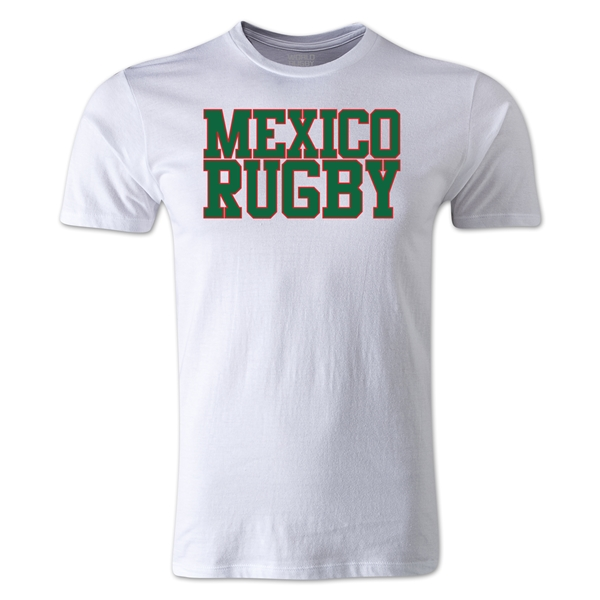 Mexico Supporter Rugby T-Shirt (White)
