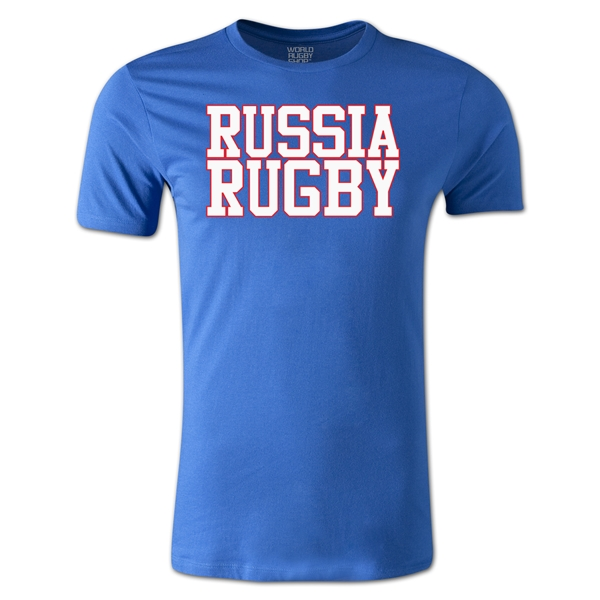 Russia Supporter Rugby T-Shirt (Royal)