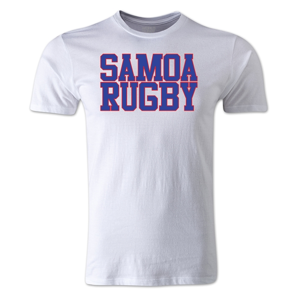 Samoa Supporter Rugby T-Shirt (White)