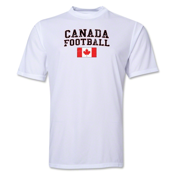 Canada Football Training T-Shirt (White)