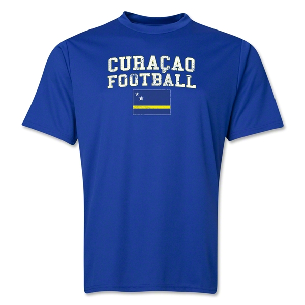 Curacao Football Training T-Shirt (Royal)