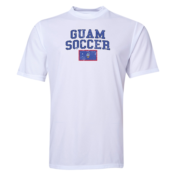 Guam Soccer Training T-Shirt (White)