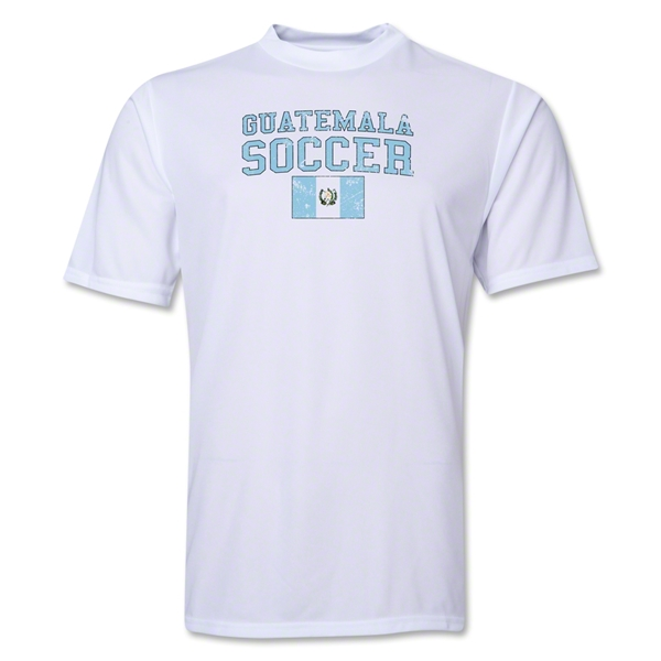 Guatemala Soccer Training T-Shirt (White)