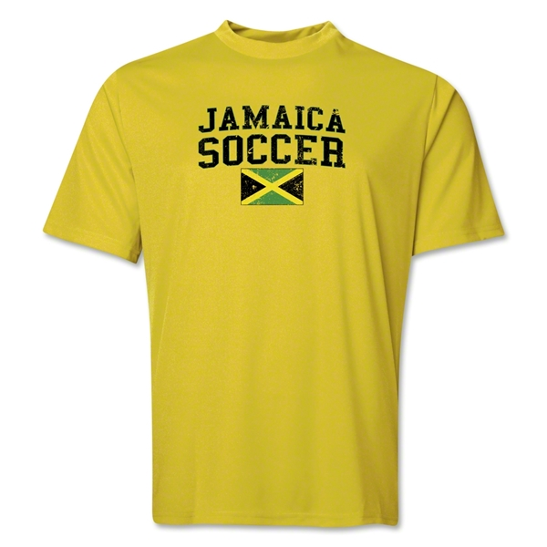 Jamaica Soccer Training T-Shirt (Yellow)
