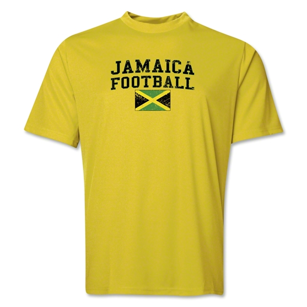 Jamaica Football Training T-Shirt (Yellow)
