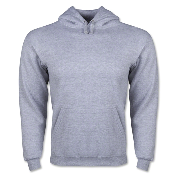 Hooded Pullover Fleece (Ash Gray)