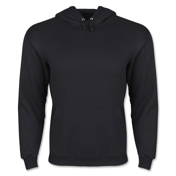 Hooded Pullover Fleece (Black)