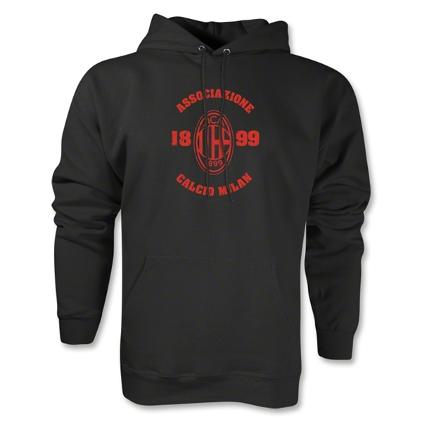 AC Milan Distressed Hoody (Black)