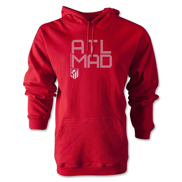 Atletico Madrid ATL MAD Hoody (Red)