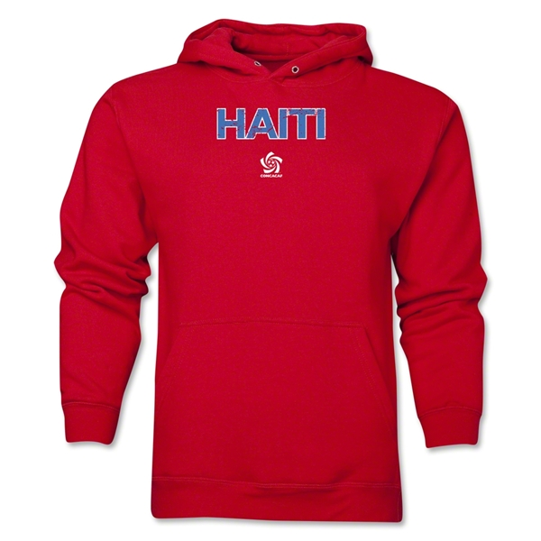 Haiti CONCACAF Distressed Hoody (Red)