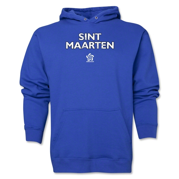 St. Maarten CONCACAF Distressed Hoody (Royal)