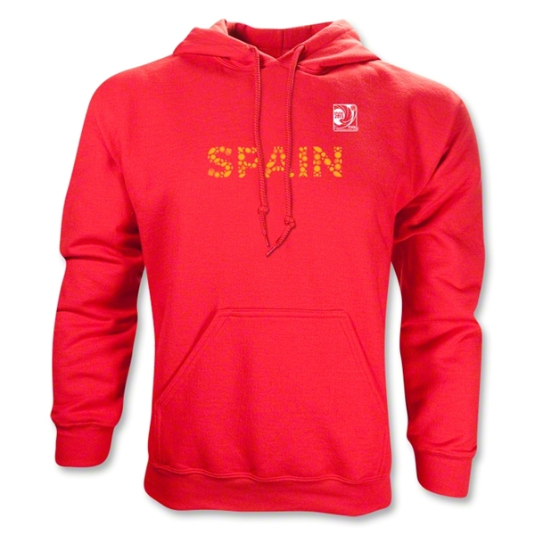 FIFA Confederations Cup 2013 Spain Country Hoody (Red)