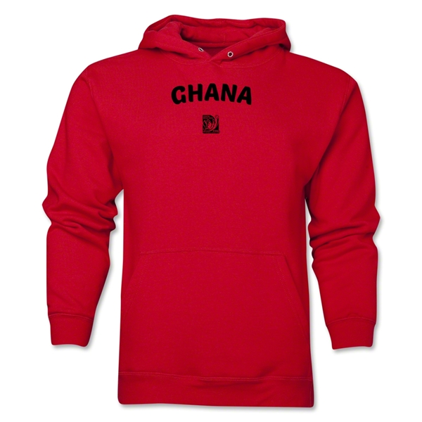 Ghana FIFA U-17 Women's World Cup Costa Rica 2014 Men's Core Hoody (Red)