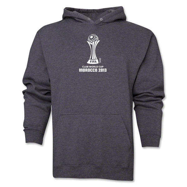 FIFA Club World Cup Morocco 2013 Men's Official Emblem Hoody (Dark Grey)