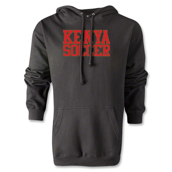 Kenya Soccer Supporter Hoody (Black)