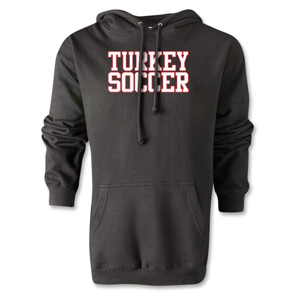 Turkey Soccer Supporter Hoody (Black)