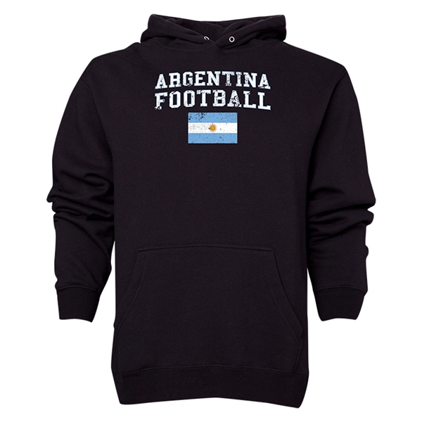 Argentina Football Hoody (Black)