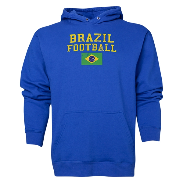 Brazil Football Hoody (Royal)