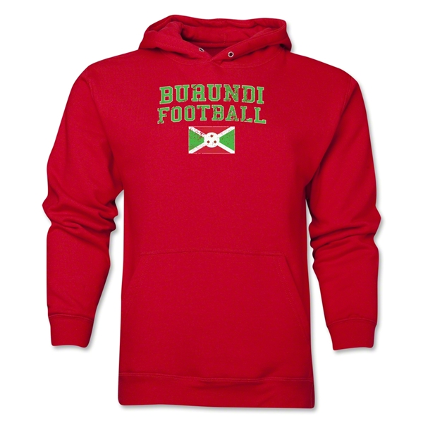 Burundi Football Hoody (Red)